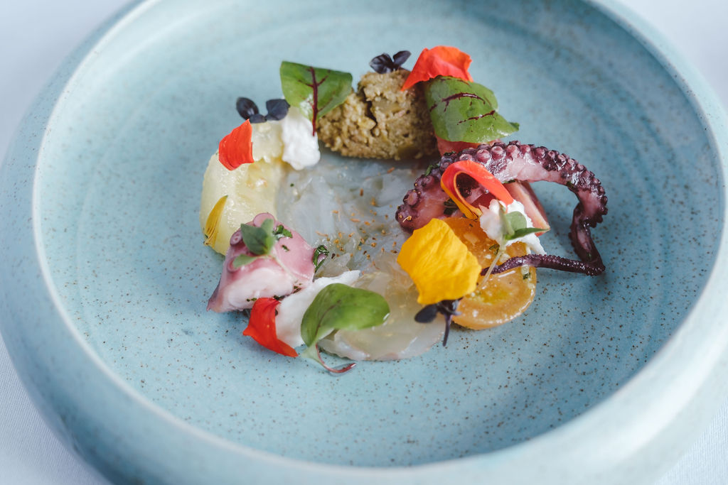 Modern cuisine with creative flair